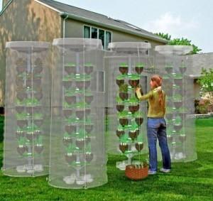 L'orto verticale che salva lo spazio, ottimizza l'acqua e ricicla la plastica | Sustain Our Earth | Scoop.it