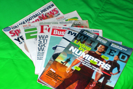 Digital Media Rise Pushes Print Suppliers To The Brink And Beyond | Digital Content Publishing | Scoop.it