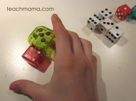 practicing math facts with crazy, mixed-up dice: math games for kids | BLOGICMATES | Scoop.it