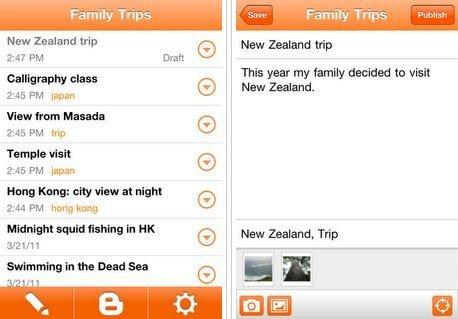Blogger ha lanzado su esperada aplicación para iOS | Educación a Distancia y TIC | Scoop.it