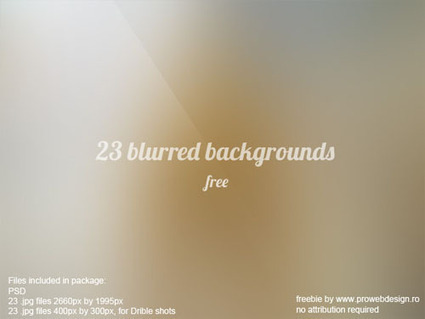 100+ Free High Resolution Blurred Backgrounds To Showcase Your Work | photoshop ressources | Scoop.it