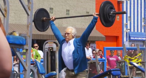 Pro Weightlifter Goes Undercover As An Old Man In This Awesome Ad That's Got 50M Views In 1 Day | Xposed | Scoop.it