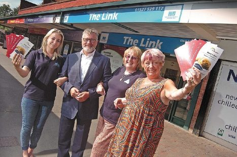 Redditch MP drops in as Credit Union fights back against loan sharks | Redditch Standard | Credit union UK news | Scoop.it