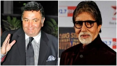 The Golden Years - Rishi Kapoor and Amitabh Bachchan: Peers All Through! | Latest News & Updates at Daily News & Analysis | Amitabh bachchan | Scoop.it