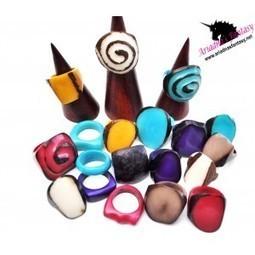 Rings Tagua - Ariadnas Fantasy | Natural Organic Jewelry | Scoop.it