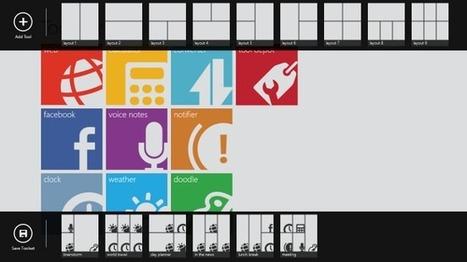 Toolbox: trabajando con múltiples herramientas a la vez en #Windows8   Desktop OS - News & Tools   Scoop.it