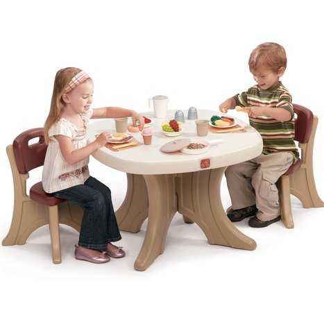 Step2 New Traditions Table & Chairs Set Review | Home Office Furniture | Scoop.it