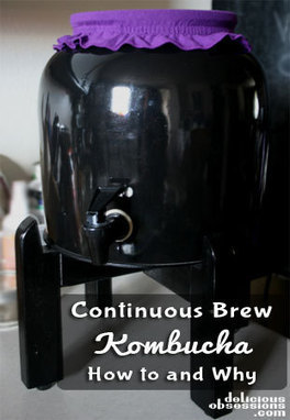 Continuous Kombucha Brewing: How To and Why | Delicious Obsessions | The Food rEvolution | Scoop.it