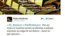 Un miembro de NNGG del PP publica en Twitter: «Por mi como si vuestros novios os abortan a palazos»   Errores en Social Media   Scoop.it