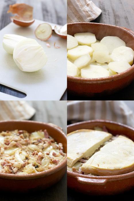 Tartiflette au Reblochon. Receta   CocinandoconCatMan.com   Mis recetas favoritas   Scoop.it
