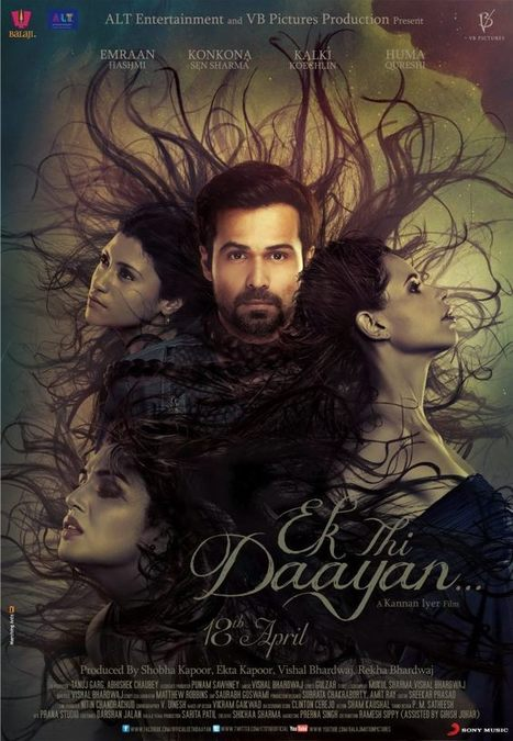 Ek Thi Daayan (2013) Movie New Poster | Emraan Hashmi & Huma Qureshi | Entertainment and Special Days | Scoop.it