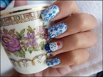 The Sunday Nail Battle ! Tea Time   Beauty Training Studio   Scoop.it