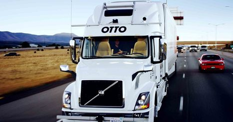 Uber's Self-Driving Truck Makes Its First Delivery: 50,000 Budweisers | Global Brain | Scoop.it