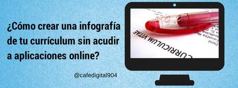 ¿Cómo crear una infografía de tu currículum sin acudir a aplicaciones online? | EmpleoDosPuntoCero | Scoop.it