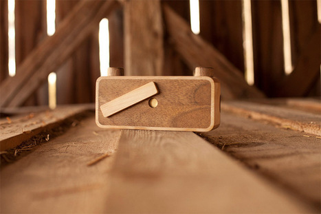 Put Down the iPhone and Pickup an ONDU Wooden Pinhole Camera #art #design #photography #camera   Luby Art   Scoop.it