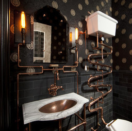 Steampunk Bathroom | UbiCiudad | Scoop.it