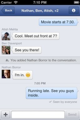 Facebook Updates Messenger For iPhone 5 iOS 6 With New Chat UI | Ikrar Mochammad Rediansyah | Scoop.it