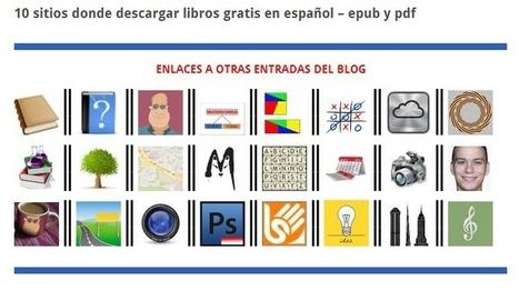 ABSOLUTAMENTE TODOS los SITIOS donde descargar LIBROS GRATIS en ESPAÑOL incluidos de TEXTO | Medicina | Scoop.it