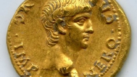 Gold coin with face of young Nero found in Jerusalem, dated to soon after crucifixion | Jewish Education Around the World | Scoop.it