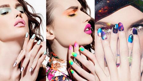 NCLA Teams Up With Jenna Hipp, Madeline Poole & Celeb Manicurists On Nail Wrap Line | nail art | Scoop.it