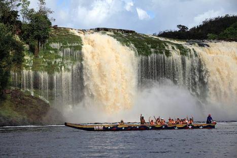 Parque Nacional Canaima, República Bolivariana de Venezuela. Estado Bolívar.   Venezuelan landscapes   Scoop.it