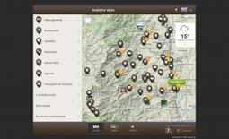 NOE » Archive » Un responsive web design pour l'Ardèche verte | Our work | Scoop.it