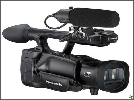 Panasonic creates HDC-Z10000 AVCHD 2.0 compatible 3D HD camcorder: Digital Photography Review | Photography Gear News | Scoop.it