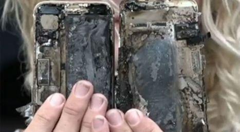 Après Samsung, Apple ? Un iPhone 7 prend feu en Australie | Freewares | Scoop.it
