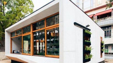 Archiblox, la mini-maison écolo à monter en un jour | Innovation - Environnement | Scoop.it