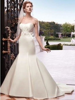 Casablanca 2132 wedding dress | Bridal Fashions | Scoop.it