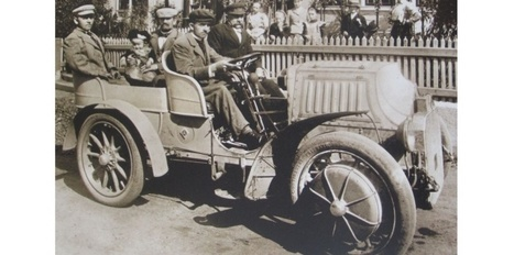 Une voiture hybride centenaire au départ d'une course - nouvelobs.com | GenealoNet | Scoop.it