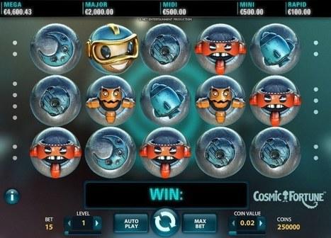 New Cosmic Fortune slot online | Online Slots | Scoop.it