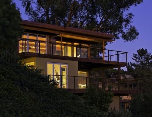 maison des ann es 50 r nov e et red cor e par ab design studio santa barbara californie usa. Black Bedroom Furniture Sets. Home Design Ideas