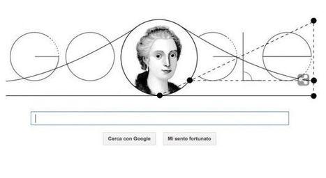 Google Doodle per Maria Gaetana Agnesi con la Versiera | The Matteo Rossini Post | Scoop.it