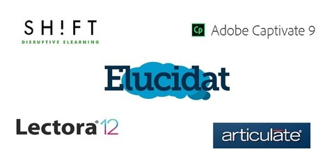 5 Elearning Authoring Tools: Comparison and Review | e-Learning: Realidades y Tendencias | Scoop.it