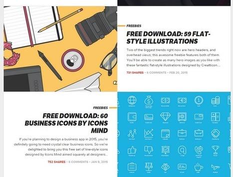 5 sources d'inspiration pour créer votre site web (suite et fin) | Numérique intelligent | Scoop.it