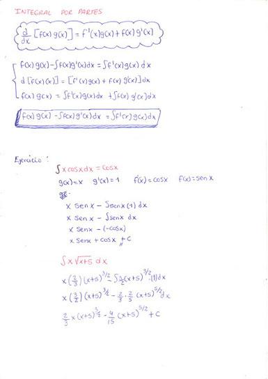 Matemática: Integral por partes | Matemática Integral | Scoop.it