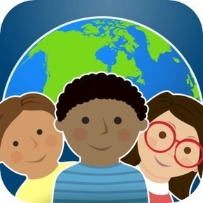 One Globe Kids – children's stories from around the world | From Classroom to Home: Extend Learning with Mobile Device Apps: K-5 Reading and Writing | Scoop.it