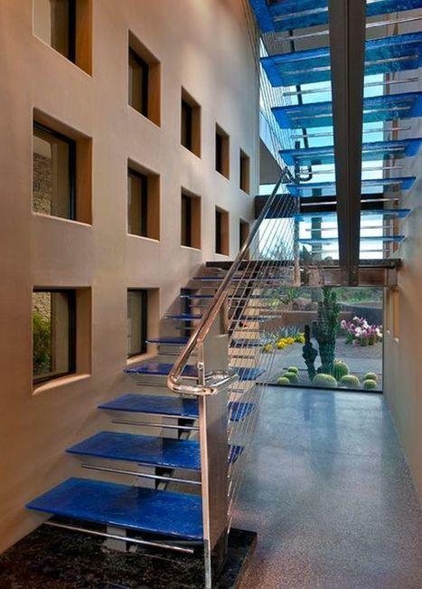 thiết kế cầu thang, thang gỗ, thang kính, thang rỗng, thang xoắn | Tạo dựng không gian đẹp | Scoop.it