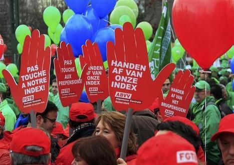 Des dizaines de milliers de Belges dans la rue contre l'austérité | Union Européenne, une construction dans la tourmente | Scoop.it