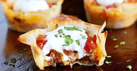 Make Your Life Easier on Super Bowl Day With These Ingenious Muffin-Tin Recipes   ♨ Family & Food ♨   Scoop.it