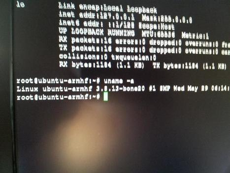 Twitter / pdp7: finally running Ubuntu on my ... | Raspberry Pi | Scoop.it