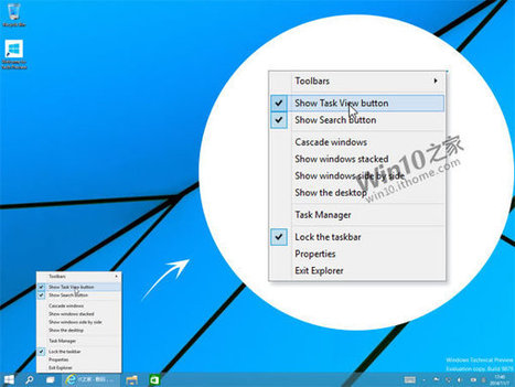 Windows 10 build 9879 screenshots reveal new changes to the taskbar, File Explorer and more | Windows 8.  + Windows Phone | Scoop.it