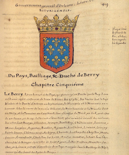 Herald Dick Magazine: l'Armorial de La Planche - 1669 - Gouvernement d'Orléans - Bailliage du Berry | GenealoNet | Scoop.it