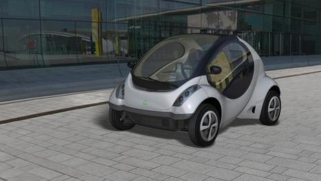 Folding cars offer solution to urban transportation problems   Amazing Science   Scoop.it