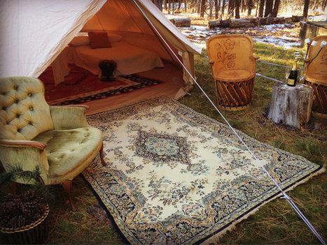 Glamping it up in a yurt or safari tent - State of Green | Sustainable living | Scoop.it