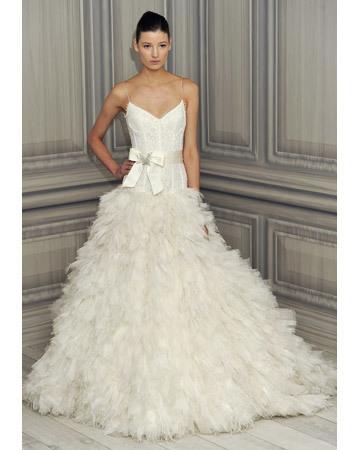 Wedding Dresses with Feather Details from Spring 2012 Bridal Fashion Week - Martha Stewart Weddings Fashion & Beauty | Wedding Dress Inspiration | Scoop.it