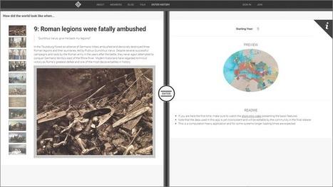 Edu-Curator: Chronas: interactieve atlas van de wereldgeschiedenis | Patu | Scoop.it