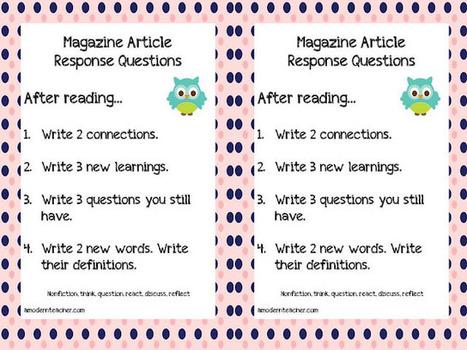 A Modern Teacher: Modern Teaching Mondays: Time for Kids | Differentiation Strategies | Scoop.it