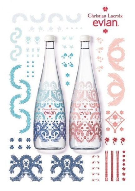Evian par Christian Lacroix | Les Gentils PariZiens : style & art de vivre | Scoop.it